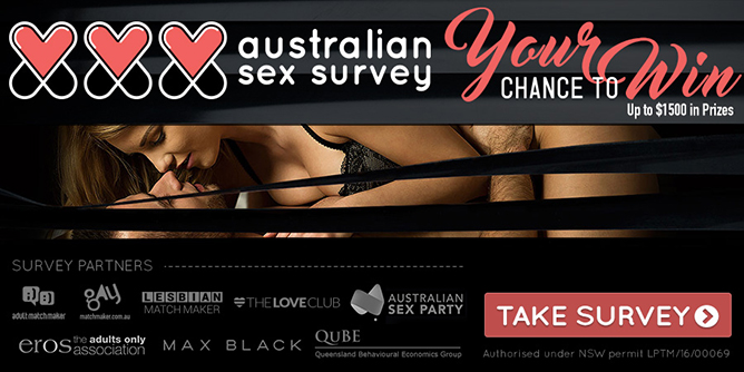 Australian Sex Survey Banner
